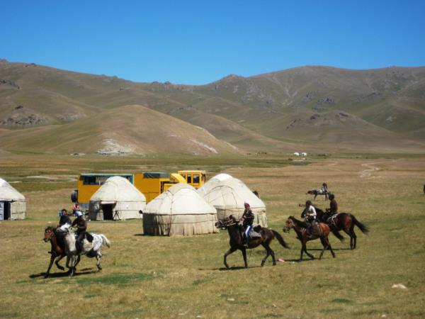 Kyrgyzstan small group tour, off the beaten track