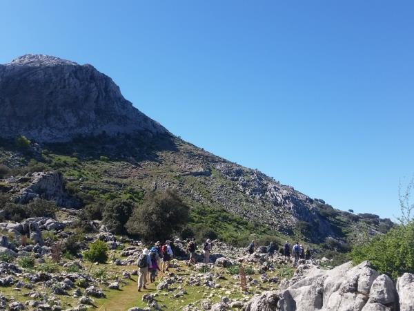 Grazalema walking tour, Spain