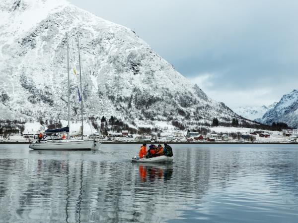 Ski and sail adventure in Lofoten, Norway