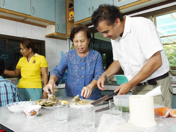 Small group cooking holiday in Thailand