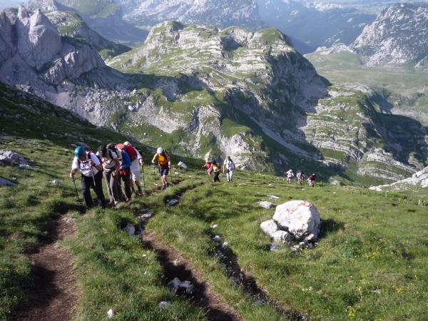Montenegro extreme activity holiday