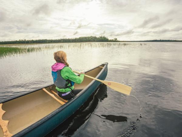 Wilderness activity and wildlife holiday in Ontario, Canada