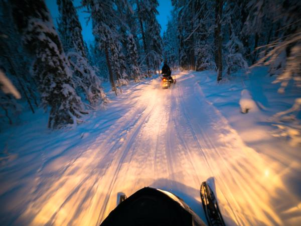 Winter adventure in Finland