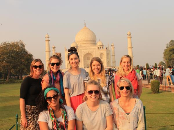 India volunteering & highlights