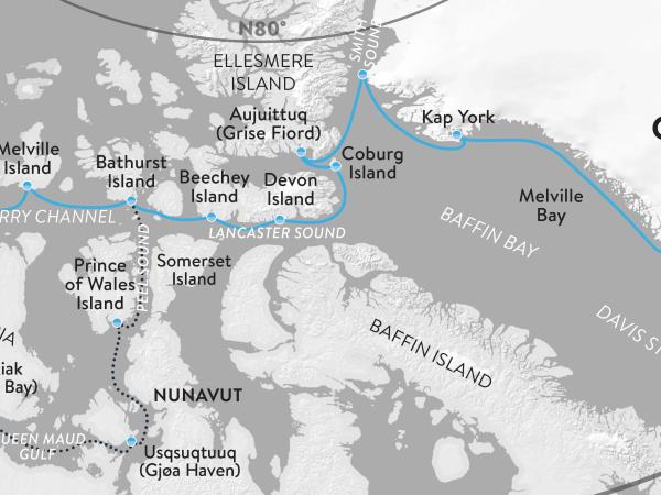 Canada Northwest passage expedition cruise