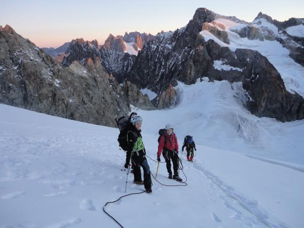 French Alps climbing holiday, short break