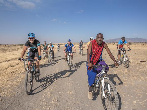 Tanzania cycling holiday, explore by bike