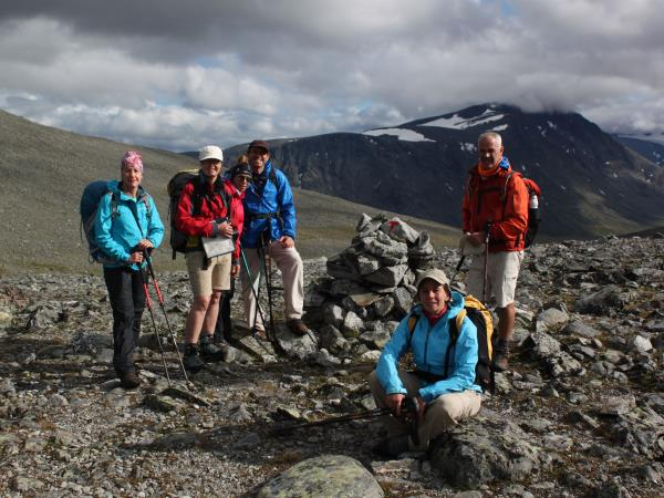 Norway guided hiking holiday in Jotunheimen
