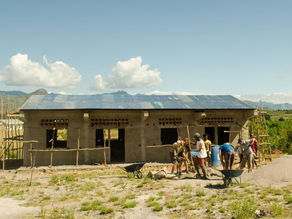 Madagascar school building project