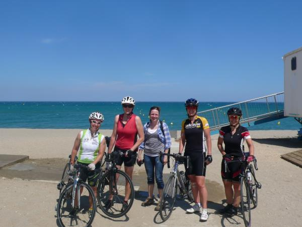 French Pyrenees women only cycling tour