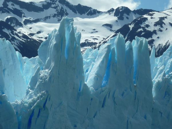 Patagonian glaciers holiday with ice trekking
