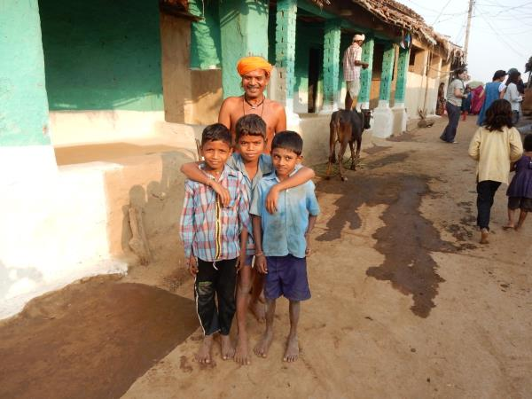 Central and Western India holiday, Rural Life