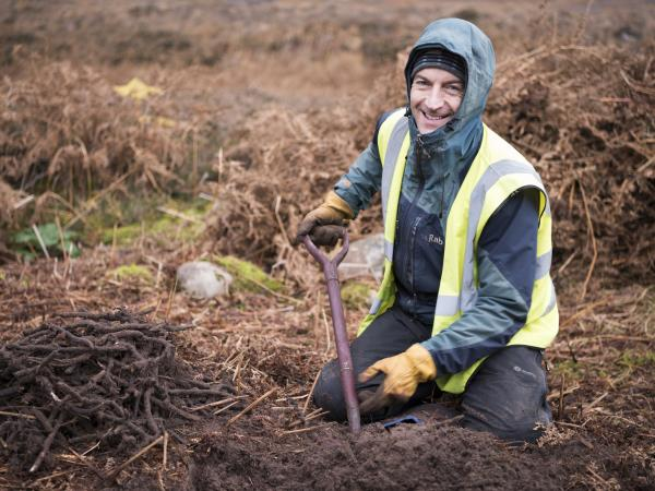 Conservation volunteering in Scotland