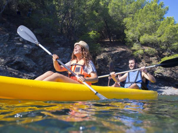 Family cycling and water sports holiday in Spain