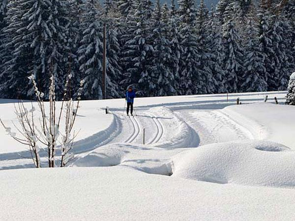 Cross country skiing in Austria