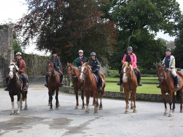 Tipperary horse riding holiday in Ireland