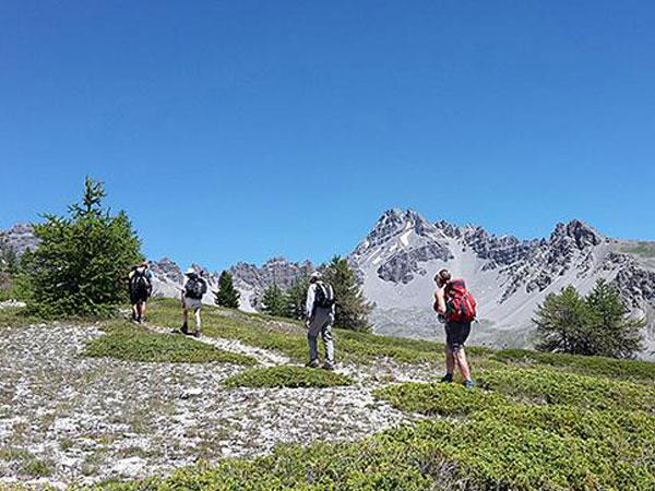 Tour du Mont Viso walking holiday in Italy