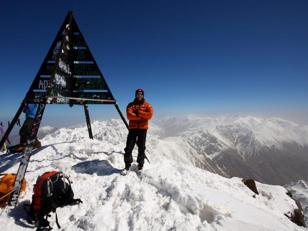 Climb Mount Toubkal in winter