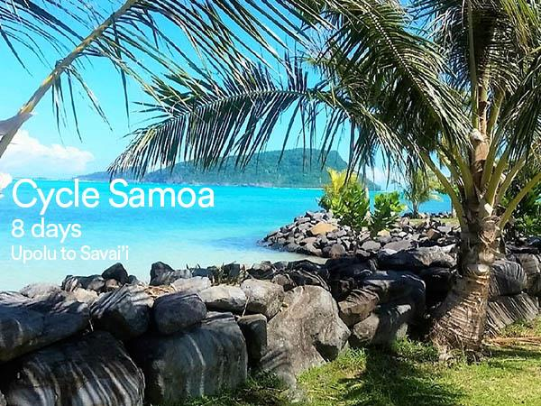 Samoa cycling holiday