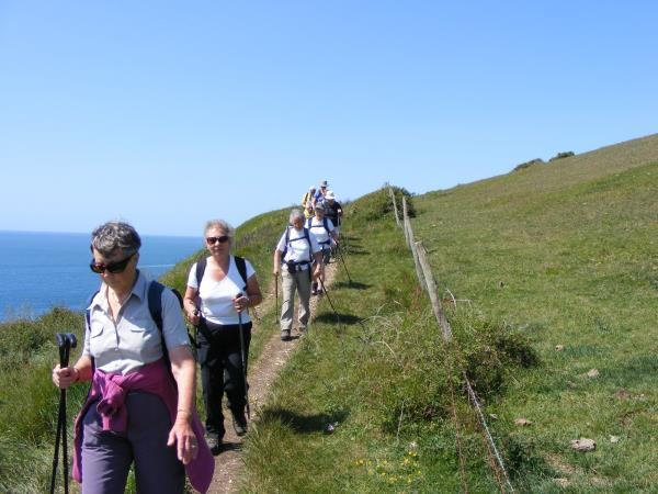 South West Coast Path Minehead to Barnstaple walk