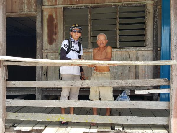 Borneo cycling holiday, Headhunters Heartland