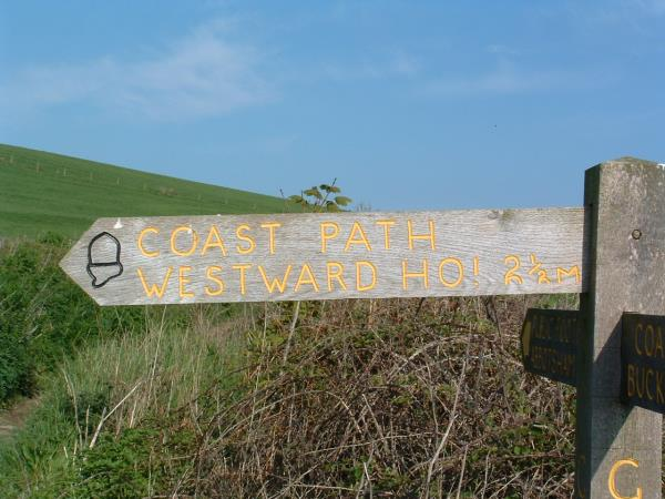 Barnstaple to Bude South West Coast Path walk