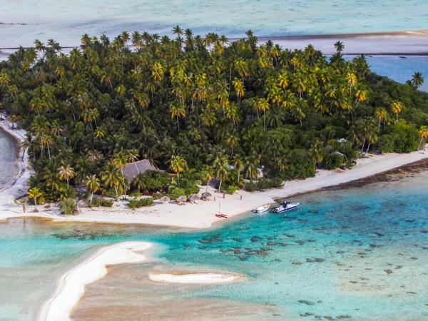 Desert island survival in french polynesia helping for Desert island fishing
