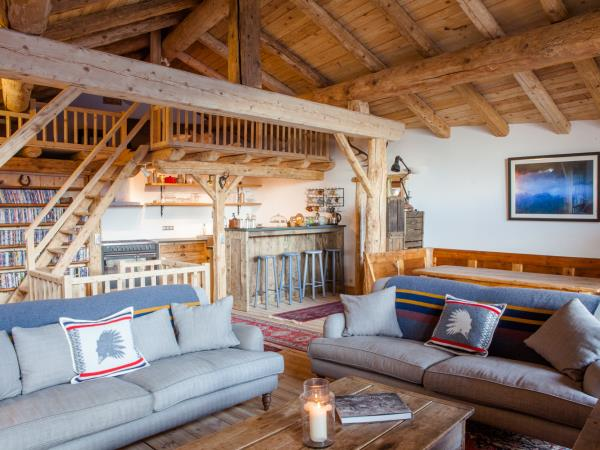 Ecolodge accommodation in the French Alps