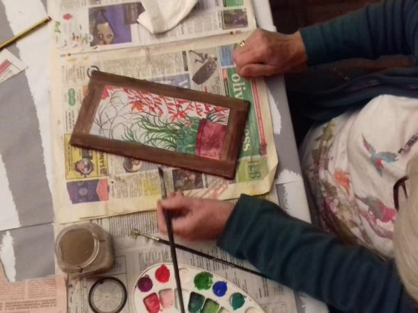 Painting holiday in Andalucia, watercolours and more