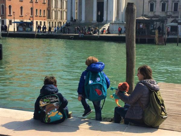 Italy family holiday, Venice & Lake Garda