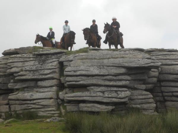 Dartmoor horse riding holiday, England
