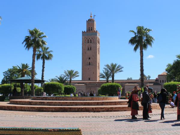 Morocco holiday, natural landscapes