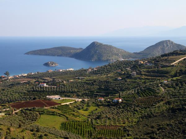 Peloponnese self drive holiday in Greece