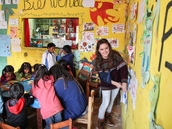 Volunteer in Peru, teaching and sports