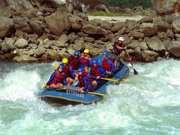 Nepal wildlife safari and rafting holiday