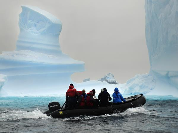 Luxury Antarctica cruise from Ushuaia