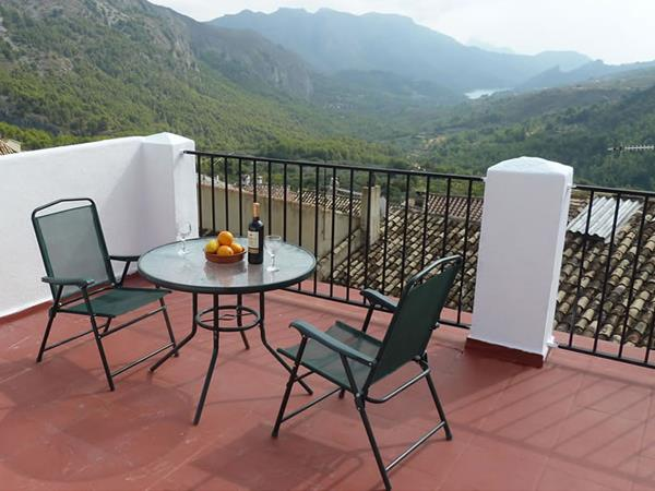 Spain accommodation for walkers, Costa Blanca