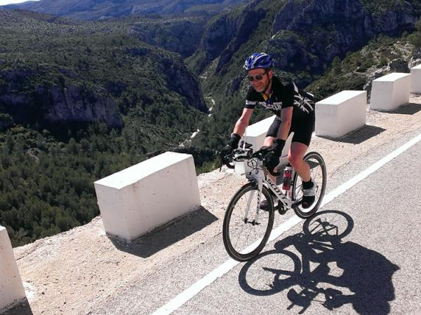 Road cycling holiday in Spain, Costa Blanca