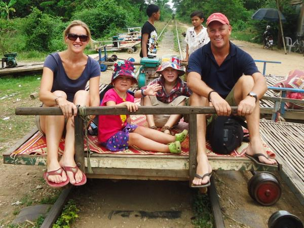 Family holiday in Laos and Cambodia