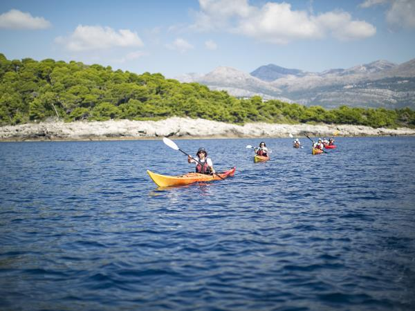 Croatia sea kayaking holiday, islands & parks