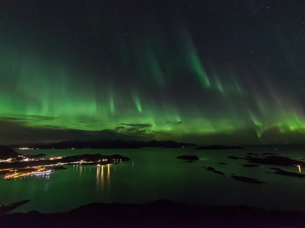 Northern Lights holiday in Norway, Tromsø and Lyngen Alps