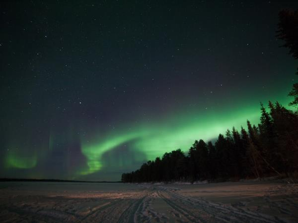 Boxing day holiday in Finnish Lapland