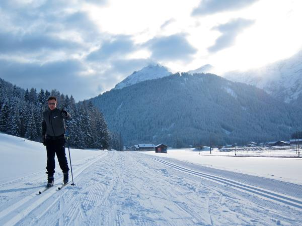 Dolomites cross country skiing holiday in Italy