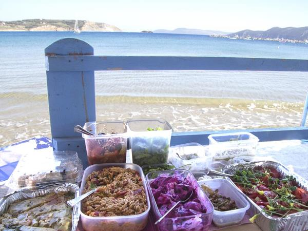 Vegetarian cuisine holiday in Greece
