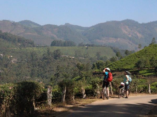 Kerala cycling holiday, India