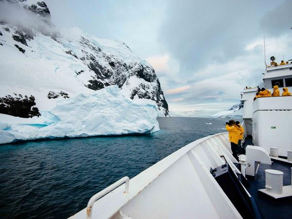 Antarctica fly and cruise
