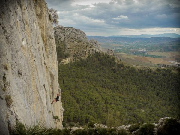 Climbing in Andalucia, Spain