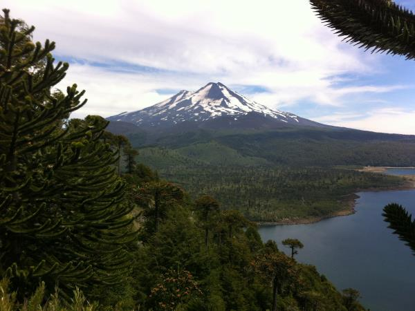 Pucon hiking holiday in Chile