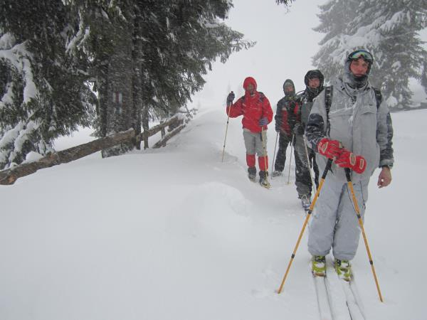 Romania ski touring holiday