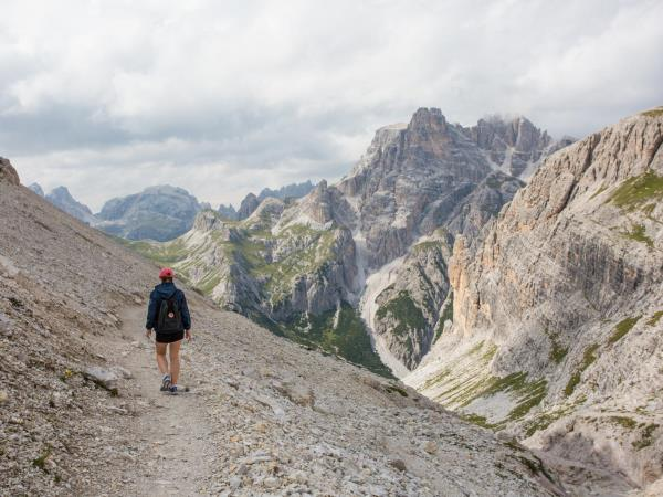 Dolomites cycling holiday in Italy